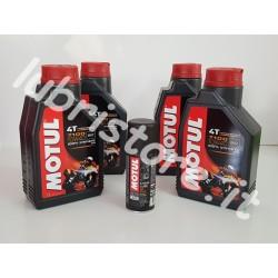 4 litri Motul 7100 4T 10w40 + omaggio
