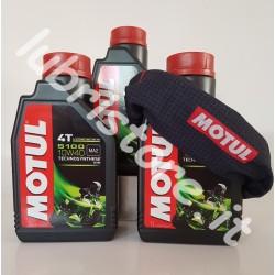 3 litri Motul 5100 4T 10w40 + omaggio