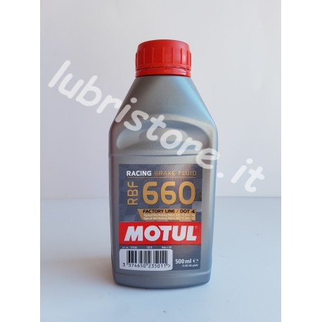 Motul Racing Brake Fluid 660