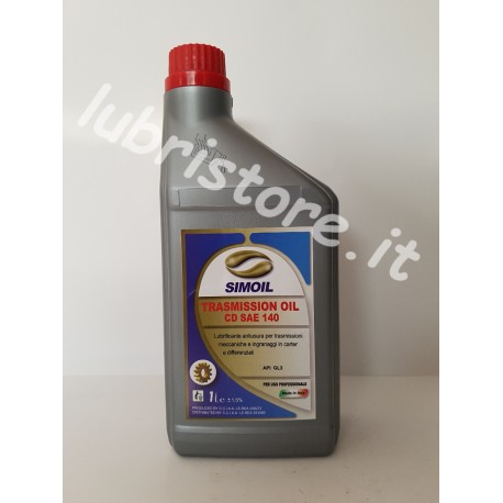 Simoil trasmission oil CD SAE 140